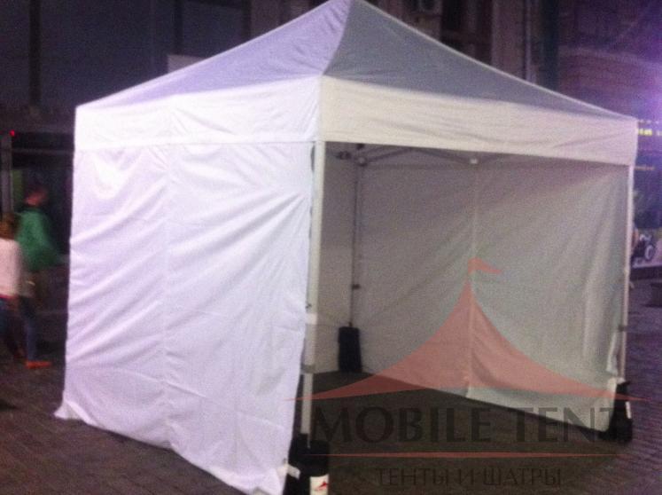 Торговые шатры 3х3 Фотогалерея