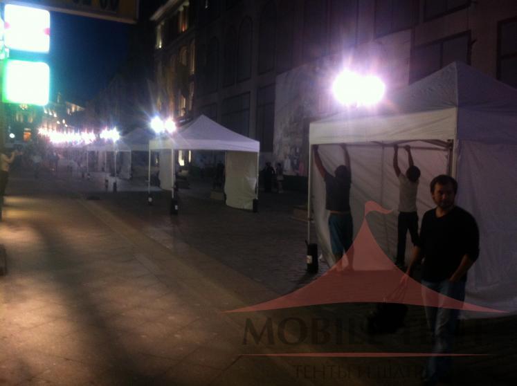 Торговые шатры 3х3 Фотогалерея 1