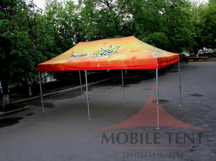 Мобильный шатёр JACOBS Фотогалерея 1