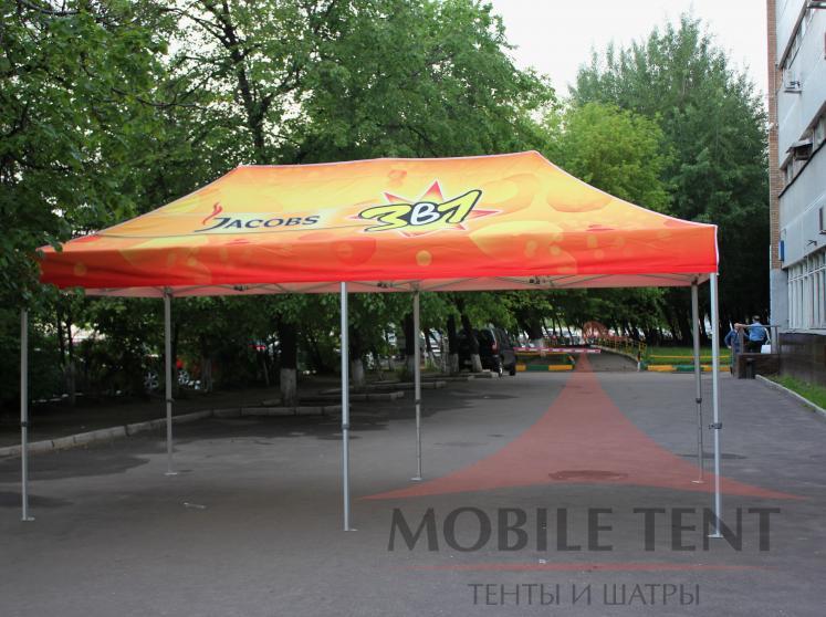 Мобильный шатёр JACOBS Фотогалерея 3