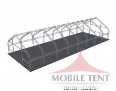 Арочный ангар 15х40 м Схема 5