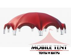 Арочный шатер 36х34 – 1000кв.м. Схема
