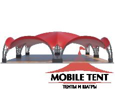 Арочный шатёр 16х16 — 256 м² Схема 3