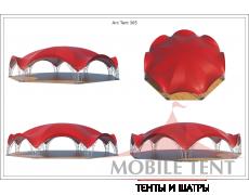 Арочный шатёр 26х24 — 460 м² Схема 5