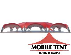 Арочный шатёр 30х20 — 600 м² Схема 1