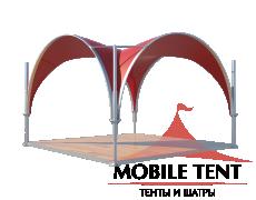 Арочный шатёр 3,5х3,5 — 12,25 м² Схема 2