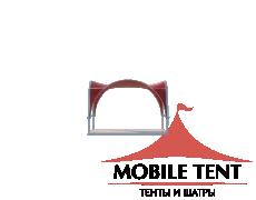 Арочный шатёр 3,5х3,5 — 12,25 м² Схема 4