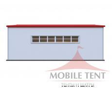Каркасный ангар 15х20м Схема 3