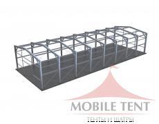 Каркасный ангар 15х40 м Схема 5