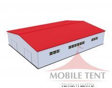 Каркасный ангар 30х40 м Схема 1