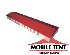 Классический шатёр 10х35 Схема