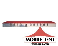 Классический шатёр 10х40 Схема 3