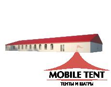 Классический шатёр 15х40 Схема 1