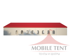 Классический шатёр 20х30 Схема 3