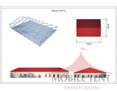 Классический шатёр — 25х35 Схема 5