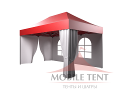 Быстросборные шатры трансформеры Prof 3х4.5 Схема 4