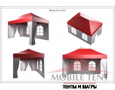 Быстросборные шатры трансформеры Prof 3х4.5 Схема 5