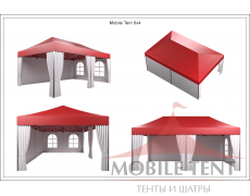 Мобильные шатры-трансформеры Prof 4х6 Схема 5
