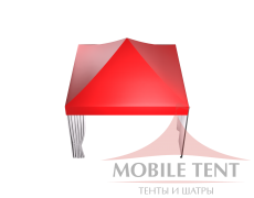 Мобильный шатёр Slim Prof 4х4 Схема