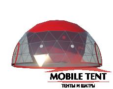 Сферический шатер диаметр 10 м Схема 3