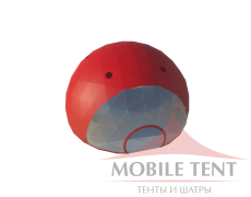 Сфера шатер диаметр 14 м Схема