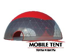 Сферический шатер диаметр 30 м Схема 3