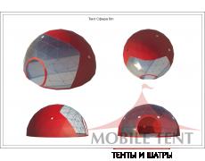 Сфера шатер диаметр 8 м Схема 5
