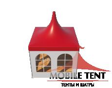 Шатры Пагода с острой крышей Стандарт 3х3 Схема