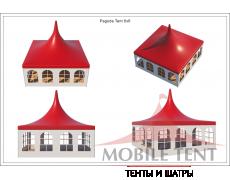 Шатёр Пагода Стандарт 6х6 Схема 4