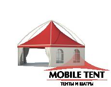 Шестигранный шатёр Лондон (Диаметр 10 м) Схема 3