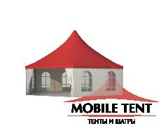 Шестигранный шатёр Стандарт (Диаметр 10 м) Схема 3