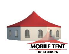 Шестигранный шатёр Стандарт (Диаметр 15 м) Схема 2