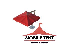 Зонт Premium Side 4х4 Схема