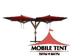 Зонт Quatro 6х6 Схема 3