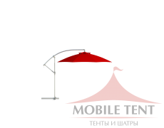 Зонт Side диаметр 4 Схема 3