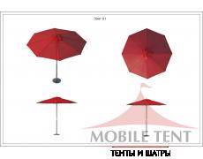 Зонт Standart диаметр 5 Схема 1