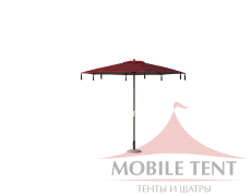 Зонт для кафе Tiger диаметр 4 Схема 2