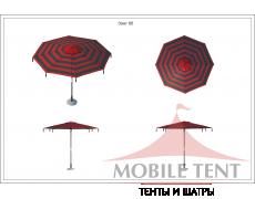 Зонт Tiger диаметр 5 Схема 1