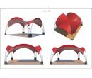 Арочный шатёр 10х10 — 100 м² Схема 5