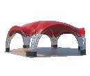 Арочный шатёр 12х10 — 94 м² Схема 3