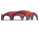Арочный шатёр 27х20 — 460 м² Схема 3