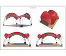 Арочный шатёр 6х6 — 36 м² Схема 5