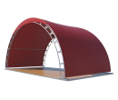 Арочный шатёр 8х4 — 32 м² Схема 3