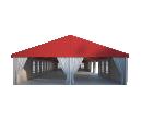 Классический шатёр 10х30 Схема 2