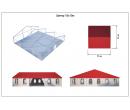 Классический шатёр 15х15 Схема 2