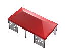 Мобильный шатёр Prof 4х8 Схема 4