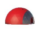 Сферический шатер диаметр 14 м Схема 3
