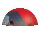 Сферический шатер диаметр 35 м Схема 2
