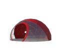 Сферический шатер диаметр 6 м Схема 1