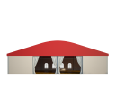 Шатёр для мероприятий 20х20 Схема 2